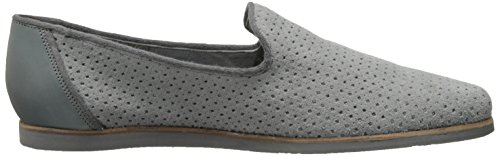 Ted Baker Men's Oshua Slip-On Loafer, Light Grey Suede/Perforated, 7 M US
