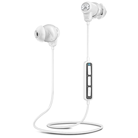 JBL Under Armour Wireless Headphones with Three-Button Remote and Microphone (White)
