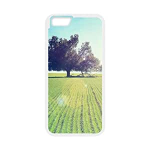 [Funny Series] IPhone 6 Plus Case Nature 81, 5.5 Inches Case for Iphone 6 Plus Apple Okaycosama - White