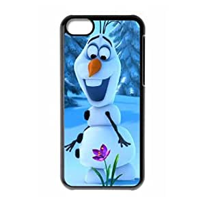 iPhone 5c Cell Phone Case Black Frozen W9878635