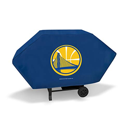 Rico Industries Golden State Warriors Executive Grill Cover (Blue) (Cover Warriors Grill)