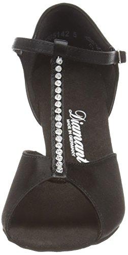 Diamant 091 Diamant Baile 025 Tanzschuhe 087 Negro amp; para Schwarz Latino Damen de Mujer Zapatos Latein Standard YdBxgdn