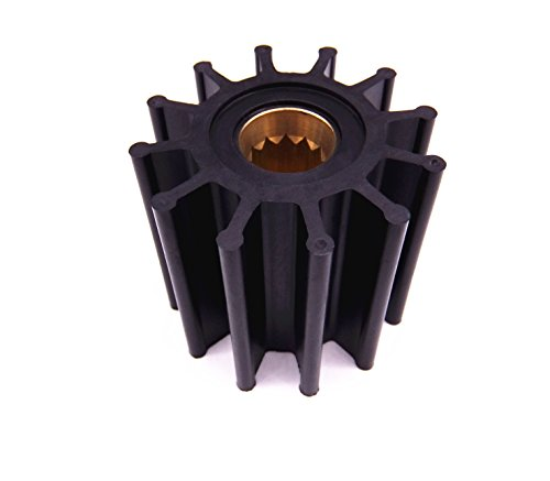 09-812B 13554-0001 119773-42600 S685007 18-3306 6TA-12457-00 Impeller for Yanmar / Johnson / Yamaha / Volvo Penta Pumps ()