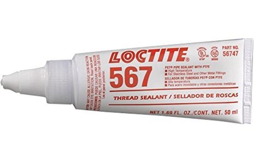 1099570 LOCTITE 567 STAINLESS STEEL PIPE SEAL HIGH TEMPERATURE SLOW CURE 50ML
