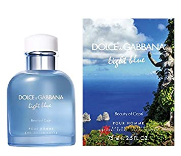 c58ffc423 Light Blue Beauty Of Capri by Dolce & Gabbana for Men - Eau de Toilette,