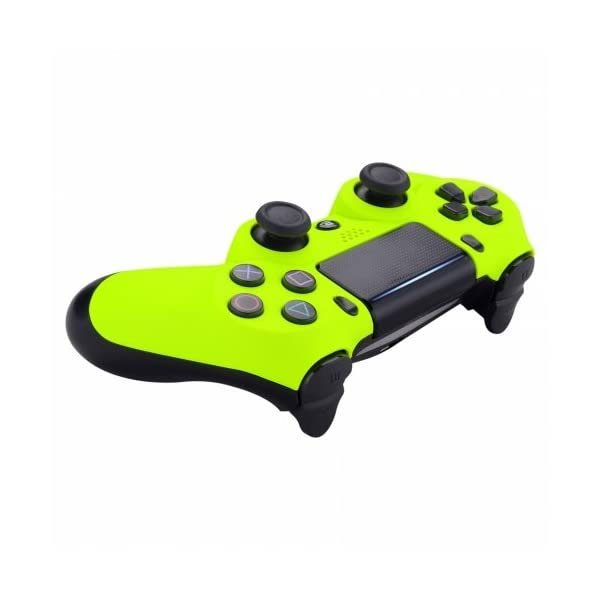 Neon Yellow Playstation 4 PS4 Dual Shock 4 Wireless Custom Controller 4