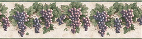 wall borders grapes - 6
