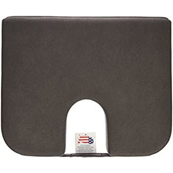 Captivating Tush Cush Extra Firm Seat Cushion   Black
