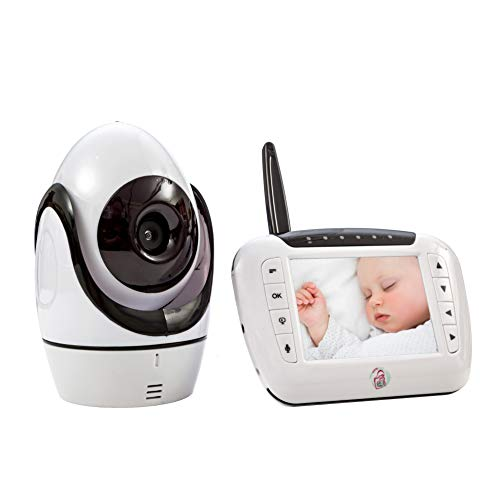 Newborn Baby Monitor Video Camera: Wireless 3.5 LCD Portable Travel Monitors with Two Way Audio