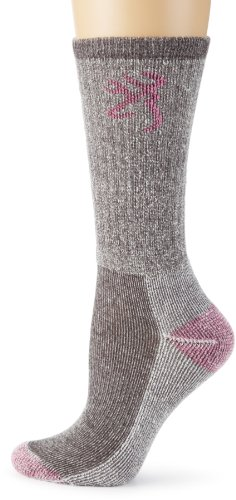 Browning+Hosiery+Women%27s+Ladies+Angora+Boot+Sock%2C+2+Pair+Pack+%28Grey%2FPink%2C+Medium%29
