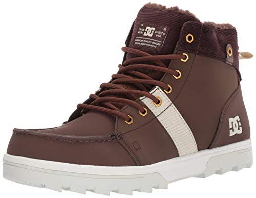 DC Men's Woodland Snow Boot, Chocolate Brown, 9 M US (Best Snow Skate Brand)