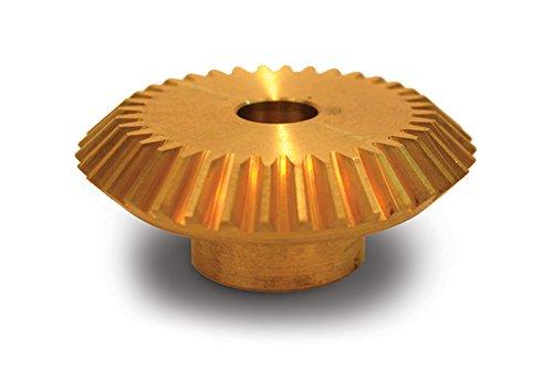 Brass 20 Degree Pressure Angle 24 Pitch 0.313 Bore Boston Gear G466Y Miter Gear 1:1 Ratio 36 Teeth