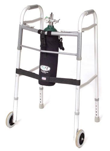 TOTE Oxygen Tank Carrier fits E-Cylinder for Wheeled Walker by Marble Medical
