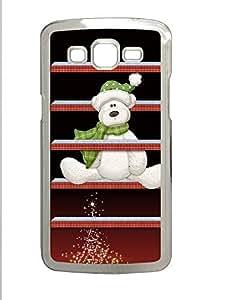 Samsung 2 7106 Case Christmas Shelves and Bear133 PC Samsung 2 7106 Case Cover Transparent