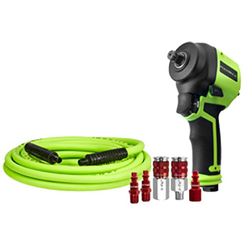 Flexzilla 1/2 in. Drive Mini Impact Wrench Kit - AT8500FZ by Flexzilla
