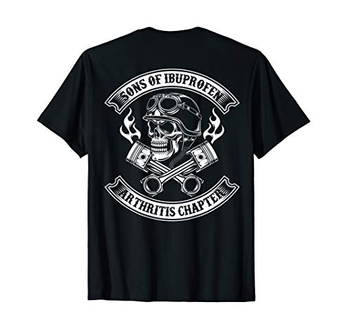(Sons of ibuprofen Arthritis chapter -Cool Biker saying shirt )