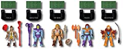Wield the power of Grayskull when you build this collectible multi-figure pack!Wrestle Eternia's future from the forces of evil when you build He-Man, Teela, Skeletor, Faker and Beast Man with this ultimate collector's figure pack! Your favor...