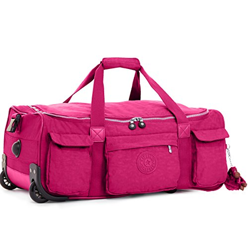 Kipling Discover S Wheeleed Luggage - Very Berry - One Size