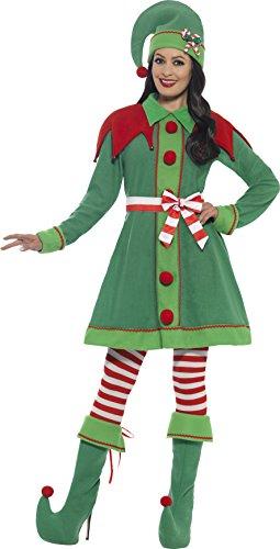 Smiffy's Elf Costume (Smiffy's 46129l Miss Elf Woman's Costume (large))