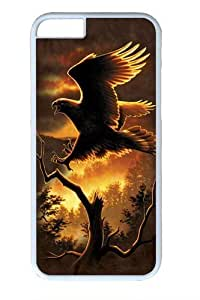 Golden Eagle Polycarbonate Hard Case Cover For Ipod Touch 5 White