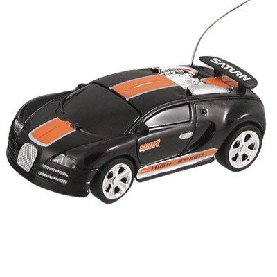 Como Black Orange Coke Can Mini Radio Control RC Racing Car Toy ()