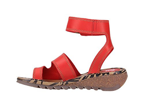 Sandals Red Fly London Fly Sandals Red P500722013 P500722013 London Fly x4q0WwAF