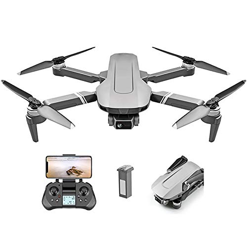 tyuiop RC Quadcopter Drone with 120° 4K HD Camera, WiFi FPV Quadcopter Foldable Drone – 25 Mins Flight Time, Live Video…