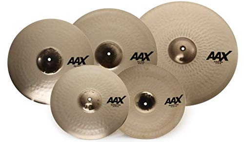 Sabian Cymbal Variety Package, AAX Promotional Set Brilliant Finish, ((14