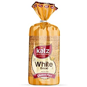 Katz Gluten Free White Bread | Dairy Free, Nut Free, Gluten Free | Kosher (1 Pack of 1 Sliced Loaf, 21 Ounce)