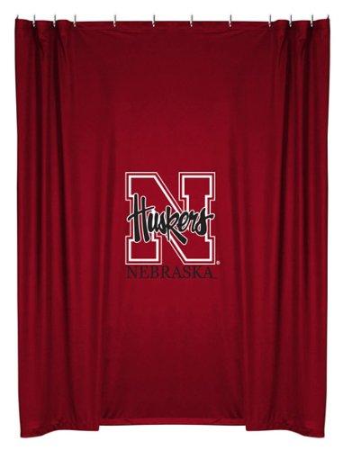 NCAA Nebraska Cornhuskers Shower Curtain
