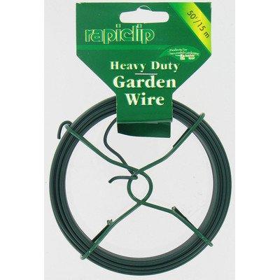 Rapiclip Duty Garden Wire [Set of 12] Size: 600'' by Luster Leaf