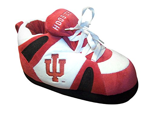 Womens College NCAA Slippers Indiana Officially Hoosiers Feet Men's and Happy Sneaker Licensed Twt0tq