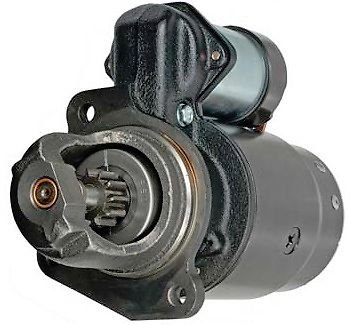 New USA Built Starter for IHC w C200 C157 C175 70-74 12 Volt 11 Tooth 1109570