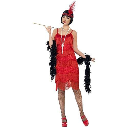 Flapper Shimmy Costume - Large - Dress Size 14-16 (Cabaret Outfits)