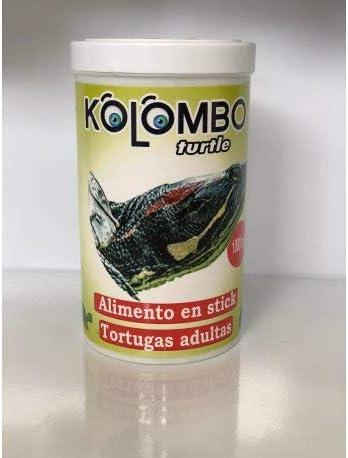 KOLOMBO Alimento en Stick para Tortugas acuaticas Adultas (Formato 1000 ML)