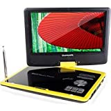 Quantumfx 9 inches Multimedia Player with Analog TV/USB/Card Reader and Rechageable Battery with Game Function