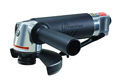 Ingersoll Rand 422G 5-Inch Edge Series Air Angle Grinder, Black
