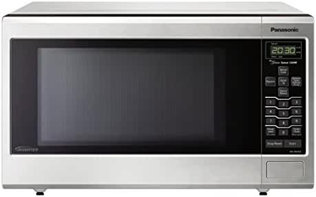 Panasonic NN-SN643SAZ Stainless 1.2 Cu. Ft. Countertop/Built-In Microwave Oven with Inverter Technology