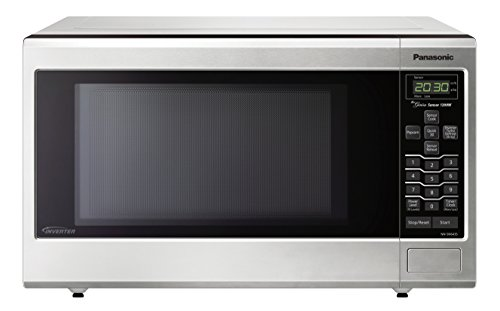 Panasonic Stainless Countertop/Built-In Microwave Oven with Inverter Technology