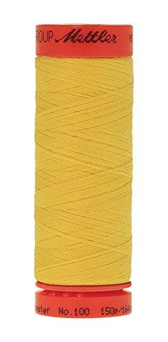 Mettler Metrosene 100% Core Spun Polyester Thread, 165 yd, Butter Cup