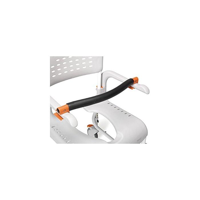 41XhypwFOSL CLEAN es lo último en diseño de sillas para la higiene. Cómoda, segura y fácil de usar. Cada detalle de la Silla de ducha y w.c. ha estado pensado para que cualquier situación sea de lo más fácil para el usuario y para el cuidador. Esta silla es apta para la ducha.