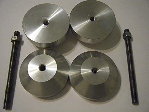 3'' Aluminum Two Hole Pins by Davis (Image #2)