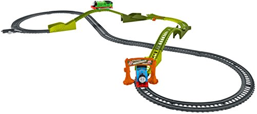 Train Elevated (Fisher-Price Thomas & Friends TrackMaster, Motorized Railway Switchback Swamp Playset)