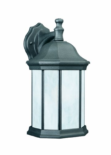 Thomas Lighting PL9462-7 PL94627 Wall-Porch-Lights, Matte Black For Sale
