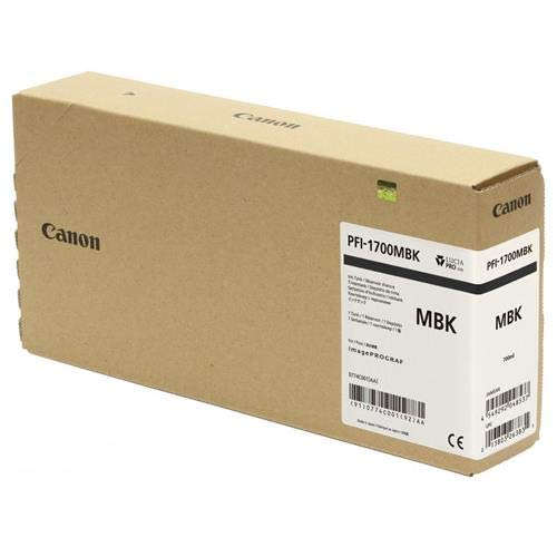 Canon imagePROGRAF PRO-2000/4000/4000S/6000S Matte Black Ink (700 mL)