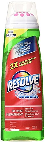 Resolve Max Power Pre-Treat Laundry Stain Remover and Maxpower Gel, 6.7 Ounce -