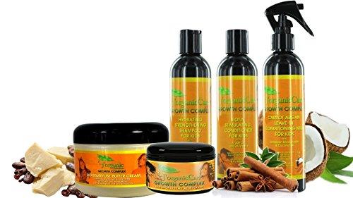 J'Organic Solutions Kids Super Moisturizing, Hydrating healthy Hair set