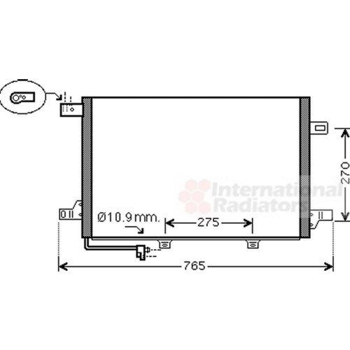 Van Wezel 30005382 Condenser, Air Conditioning VAN WEZEL GMBH