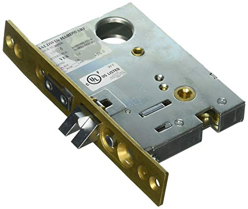Baldwin Lock Entrance - Baldwin 6075.R Right Handed Entrance, Emergency Egress Mortise Lock with 2-3/4