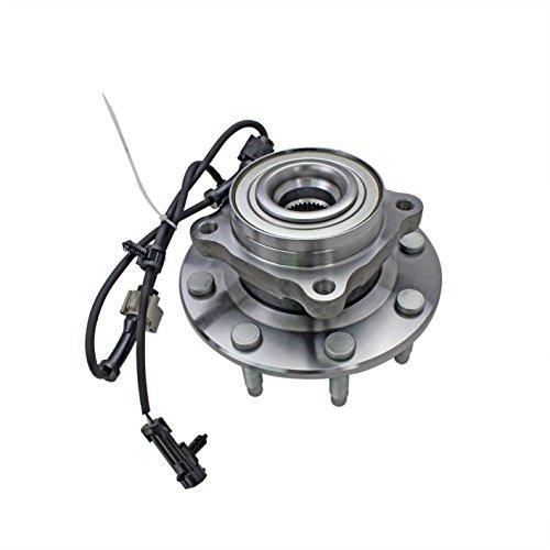 Sierra Driver Bearings (CRS NT515086 New Wheel Bearing Hub Assembly, Front (Driver)/ Right (Passenger), for Chevy C- 2500 Suburban/ Silverado 2500/ 2500HD/ Silverado 1500/ 1500HD/ Avalanche 2500, 2WD)